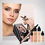 Luminess Airbrush Makeup Silk 4 IN 1 System Rose Gold & Black (Medium)