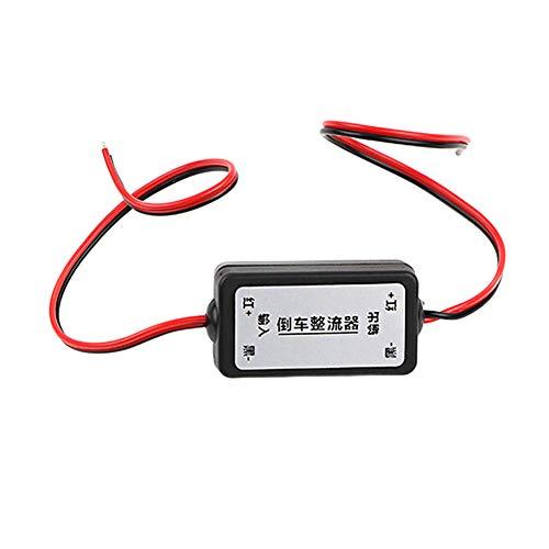 Coomir 12V cámara de Copia de Seguridad del Coche Regulador de relé Resolver cámara de visión Trasera Rizo Pantalla de Bienvenida Filtro de interferencia de interferencia