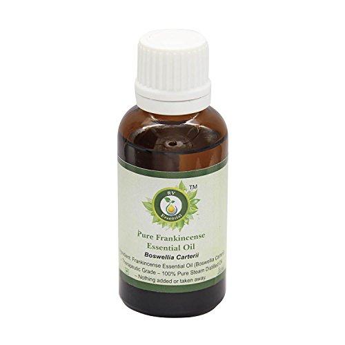 R V Essential El incienso puro 10ml Aceite Esencial (0.338 oz)- Boswellia Carterii (100% puro y...