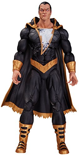 """Recreates Black Adam from Forever Evil Figure stands 6"""" tall Multiple accessories Exceptional detail Limited edition"""