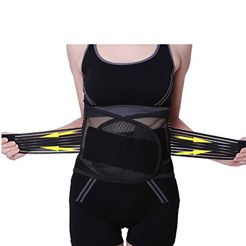 WCX Cinturón de Soporte Lumbar Cinturón Lumbar Ajustable de la Cintura para Aliviar el...