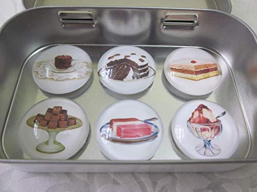 Magnete Kuchen Torte Eis Gebäck