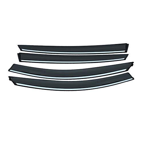 ABS Auto Rookvenster Zon Regen Vizier Deflector, Voor, Voor Kia K5 / Optima 2011 2012 2013 2014 Accessoires 4 stks