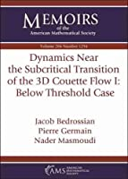 Dynamics Near the Subcritical Transition of the 3d Couette Flow: Below Threshold Case (Memoirs of the American Mathematical Society)