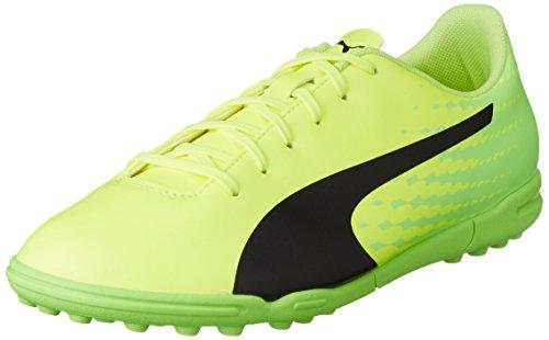 Puma Evospeed 17.5 TT, Botas de fútbol para Hombre, Amarillo (Safety Yellow Black-Green Gecko 01), 42.5 EU