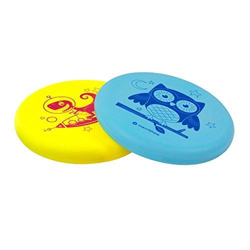 MERRITHEW Flying Foam Disk for Kids, 2 Pack