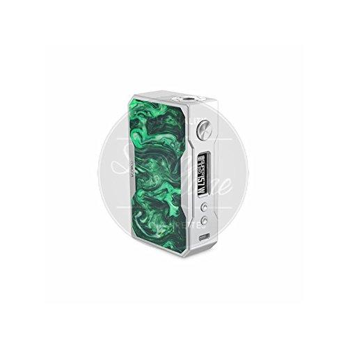 VooPoo DRAG 157W TC Box Mod Akkuträger Farbe Silver&Resin (Green Series)