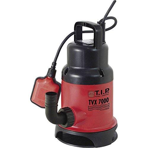 T.I.P. 30268 Schmutzwasser Tauchpumpe TVX 7000, bis 7.000 l/h Fördermenge