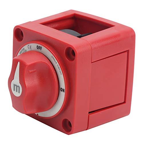 Interruptor de apagado para barcos, interruptor de apagado, interruptor de desconexión de batería Interruptor de batería para yates pequeños, barcos pequeños