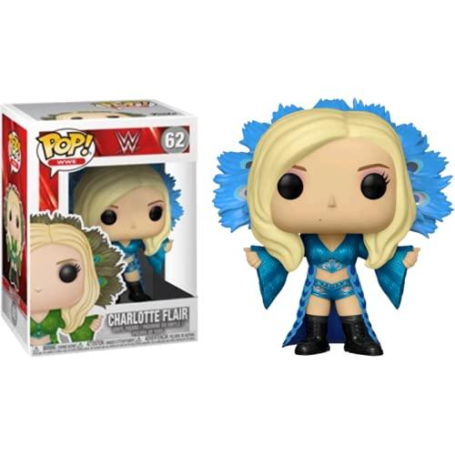 Funko Pop! WWE – Charlotte Flair – Figura realizada en Vinilo y de Unos 9 cm de...