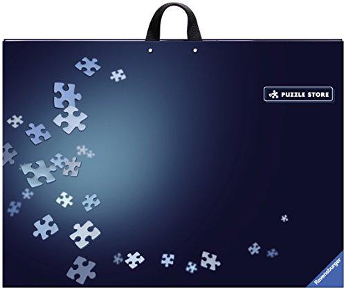 Ravensburger Puzzlemappe für Puzzles mit bis zu 1000 Teilen, Kombination aus Puzzle-Sortierschale und Puzzleunterlage, Zubehör zur Aufbewahrung von Puzzles