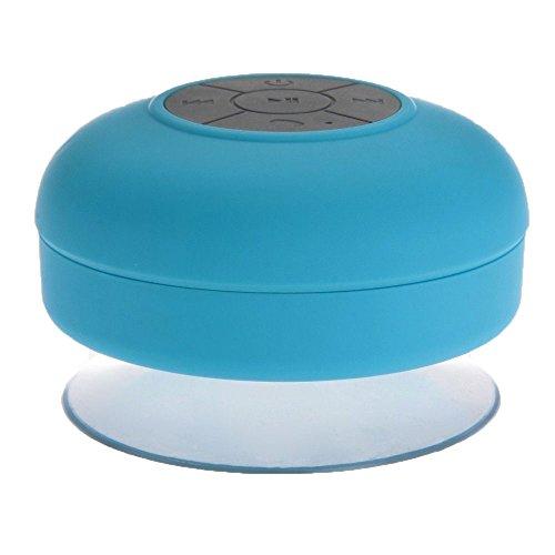 DecentGadget Waterproof Portable Wireless Bluetooth 3.0 Mini Speaker Shower Pool// DecentGadget impermeabile Portable 3.0 Mini Speaker doccia Piscina Wireless Bluetooth