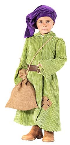 chiber Disfraces Disfraz de Enanito del Bosque para Niño (Talla 4 (3-4 años))