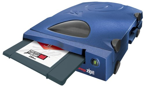 Iomega Zip 250 Parallel Port, externes 250MB Zip-Laufwerk