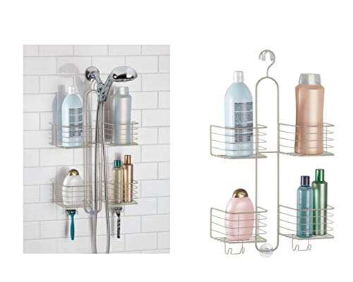 Price comparison product image iDesign Metalo Hose Shower Caddy,  Satin