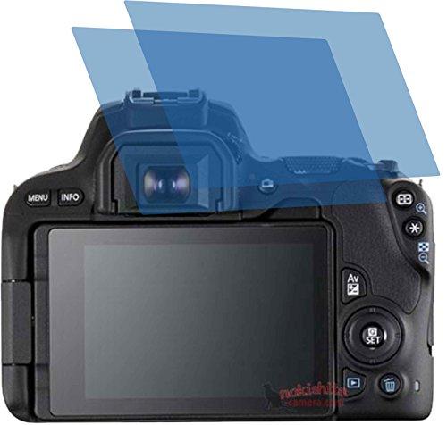 2X ANTIREFLEX matt Schutzfolie für Canon EOS 200D Premium Displayschutzfolie Bildschirmschutzfolie Schutzhülle Displayschutz Displayfolie Folie