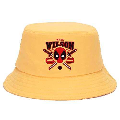 VGFTP® Sombreros de Cubo Impresos Divertidos Hombres Mujeres Sombrero de...
