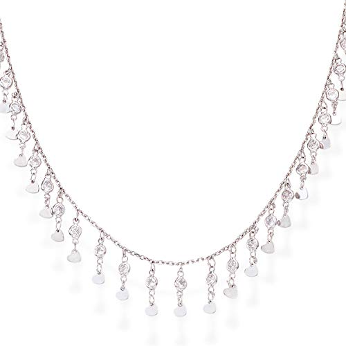 Collana Chandelier donna gioielli Cuore Amen Couture CLMHZB3
