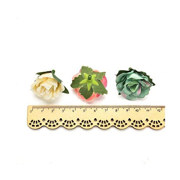 AZXU – Flores de Seda al por Mayor de Seda, Flores Artificiales para Bodas, Fiestas de cumpleaños, decoración de Flores…