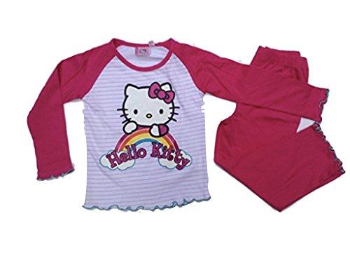 Hello Kitty Pijama rosa. rojo 128