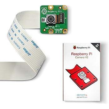 LABISTS Raspberry Pi カメラモジュール V2 ソニーIMX219PQ CMOS画像センサ 8メガピクセル 4B、3B+、3B、2Bに対応可能
