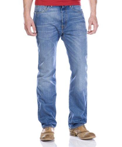 Levi's Herren 501 Original Fit Jeans, Ground Down, 30W / 34L