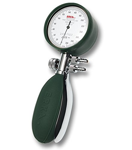 ERKA 214.20482 bloeddrukmeter Perfect Aneroid model Clinique 56 mm met armband Green Cuff, super snel, maat 4, groen