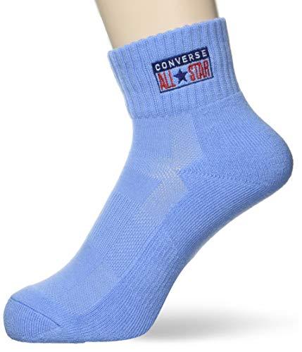 [コンバース] バスケ 靴下 カラーアンクルソックス CB191004 サックス 日本 2527 (FREE サイズ)