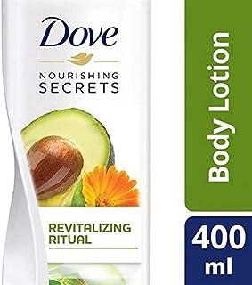 [Dove ] 鳩栄養秘密は、オイルボディローション400ミリリットルアボガド - Dove Nourishing Secrets Avocado Oil Body Lotion 400ml [並行輸入品]