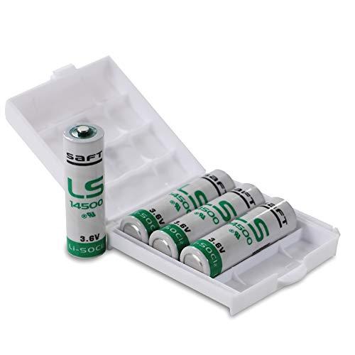 4X Saft LS14500 Batterie AA/Mignon,...