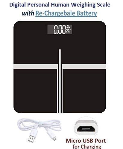 MEDITIVE Digital Personal Human Weighing Scale 180 Kg with...