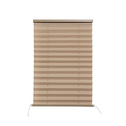 RecPro RV Pleated Blind Shades   Cappuccino   Camper   Trailer (14' W x 24' L)