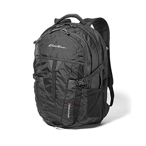 Eddie Bauer Unisex-Adult Adventurer 30L Pack, Black Regular ONESZE