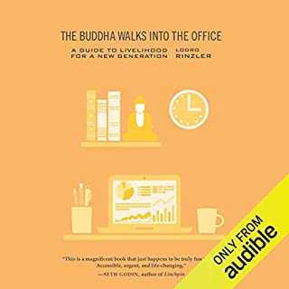 The Buddha Walks into the Office audiobook cover art