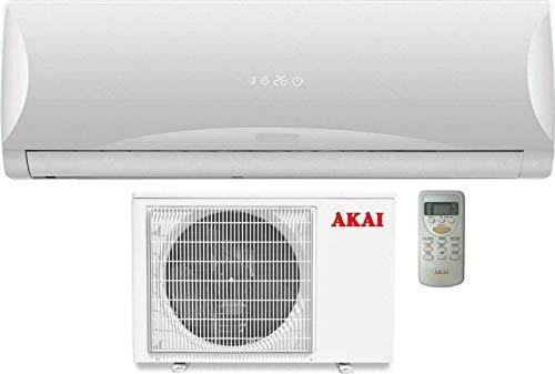 AKAY Akai Condizionatori a Parete MISTRAL9200, 9200 BTU, Colore Bianco