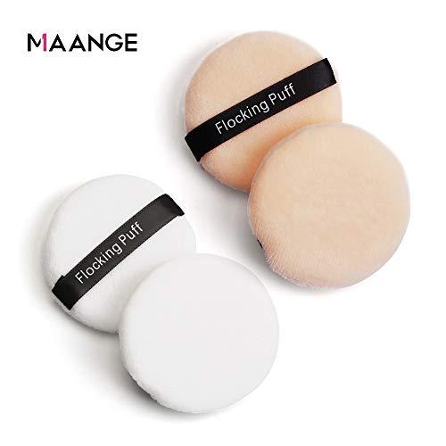 NWQEWDG 10 pièces Éponge Douce Cosmétique Houppette de Maquillage Outil
