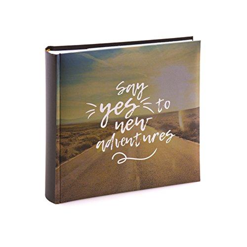 Kenro Urlaubsfotoalbum, neue Abenteuer, für 200 Fotos, 10 x 15 cm, mit Platz um Notizen neben jedem Foto aufzuschreiben, für Reisen, Brückenjahr, Urlaub, HOL121