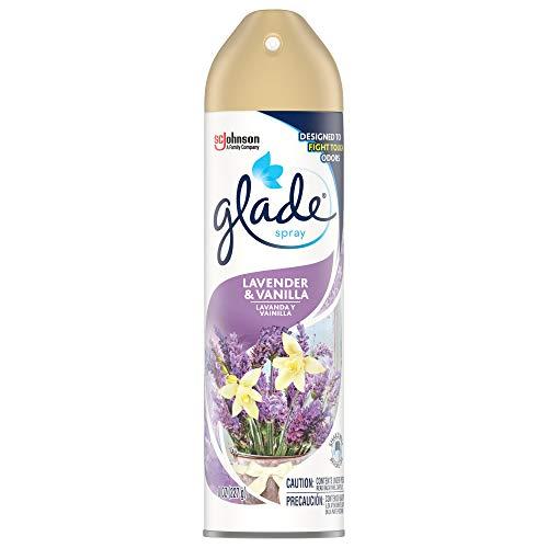Glade Air Freshener, Room Spray, Lavender & Vanilla, 8 Oz