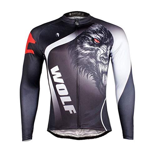 Winter sports Ciclismo Maillot Respirable Secado rápido, Pantalones Acolchados de Silicona 3D,...