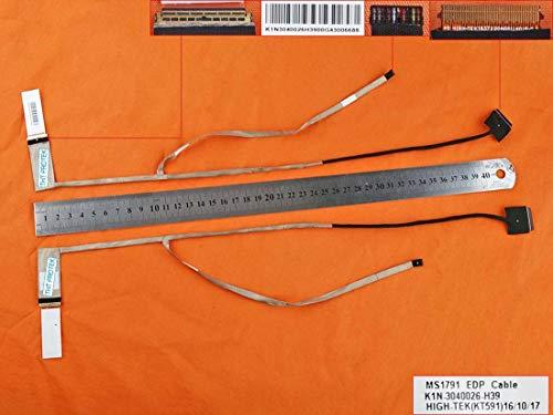 kompatibel für MSI GE72 6QE16H21 Apache Pro Displaykabel LED Bildschirm Screen Video Cable