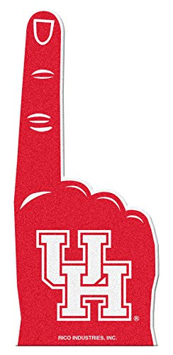 Rico Industries NCAA Houston Cougars #1 Fan Flache Schaumstoff-Finger