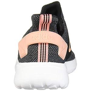 adidas Women's Lite Racer Adapt Running Shoe, black/glow Pink/Grey, 7 M US