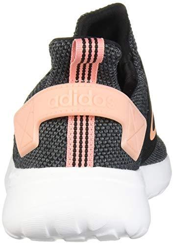 adidas Women's Lite Racer Adapt Running Shoe, black/glow Pink/Grey, 11 M US 5