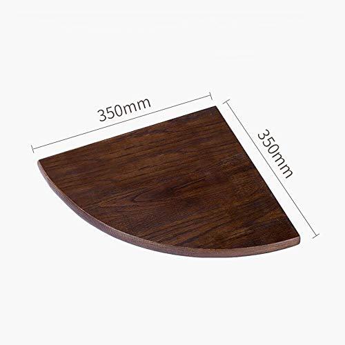 SZ JIAOJIAO Houten wandframe massief hout hoek plank woonkamer hoek ventilator muur partitie hoek opslag rek plank