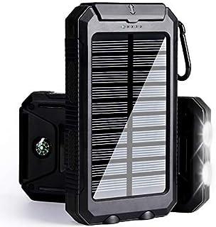 Solar Charger 30,000mAh, Solarprous Portable Dual USB...
