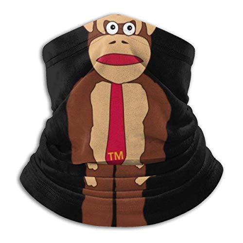 hasakii Donkey Kong Tm Krawatte Gesichtsschutz Bandanas für Staub, im Freien, Festivals, Sport