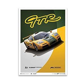 Unique & Limited Gallery(ユニーク&リミテッド) McLaren F1 GTR Mach One Racing 1995年 ル・マン24時間レース リミテッド エディション ポスター