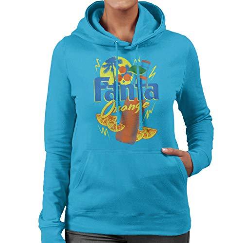 Fanta Oranje Fles 90s Zomer Vrouwen Hooded Sweatshirt
