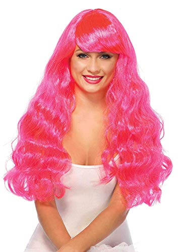 Leg Avenue Women's Star Wig o/s, Neon Pink 25