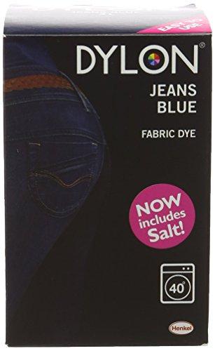 Dylon tintura uso in lavatrice blu jeans 350g con sale